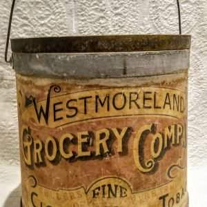 Tobacco Barrel, Antique Inspired Reproduction
