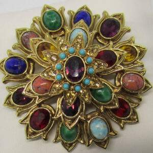 Vintage Graziano signed brooch