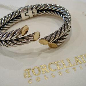John Gocke Original Signed Cable Bracelet